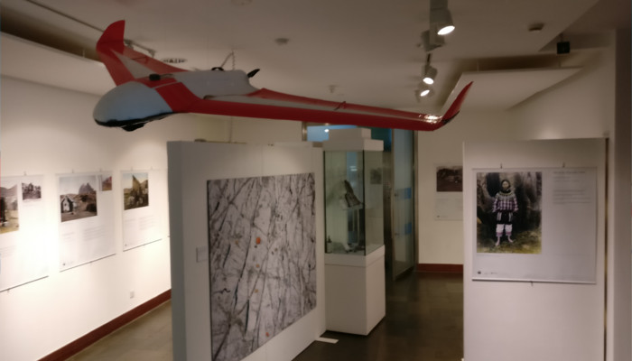 RESPONDER on show at the Polar Museum
