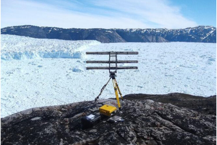 Terrestrial radar interferometer captures >8000 calving events at Store Glacier